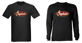 Clayphonic Records t-shirt