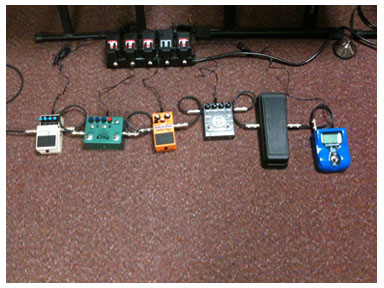 Pedals for The B.O.A.R.D. gig in March